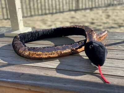 Sequin Snake - Black