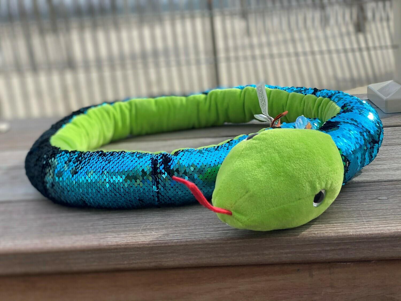 Sequin Snake - Green