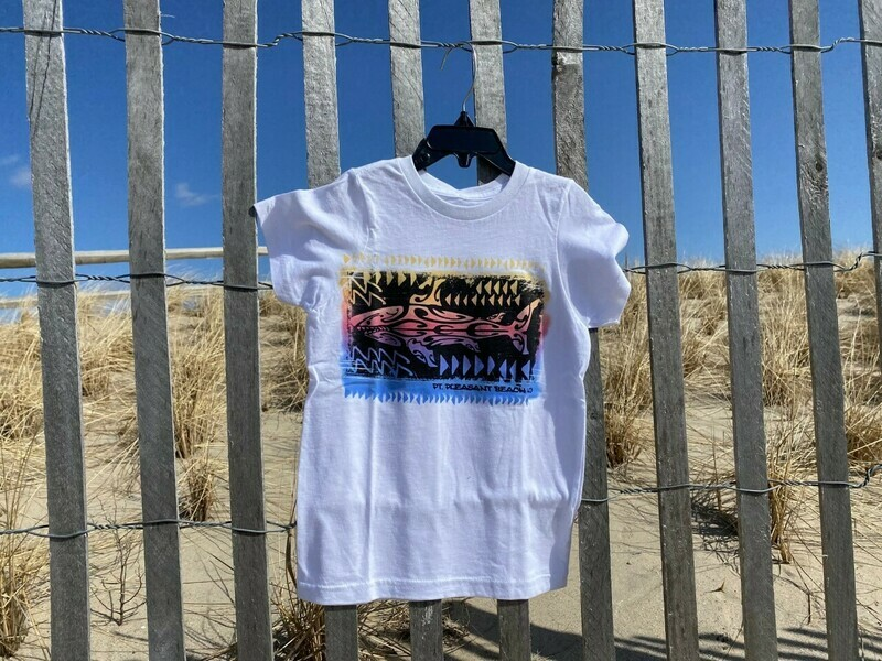 Youth Color Change Shark T-shirt