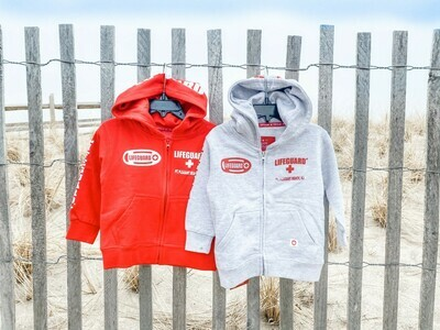 Toddler Lifeguard Zip Hoodie