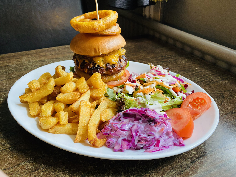 Wild Boar Burger Half Pounder