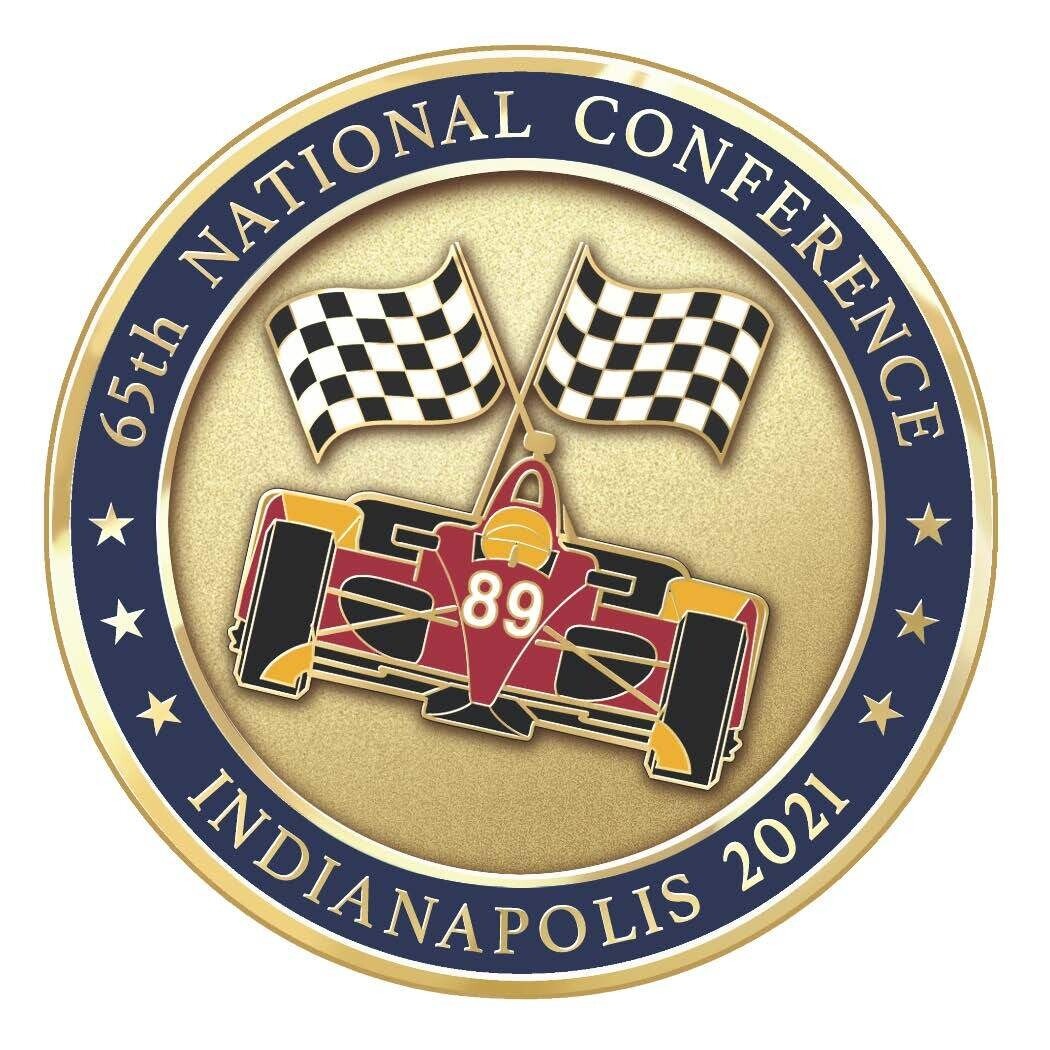 LIMITED PRODUCTION 2021 FOP 89 NATIONAL CONFERENCE COIN