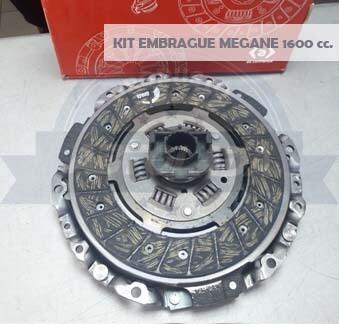 KIT EMBRAGUE 215 MM MEGANE 1600 (P+D+R)