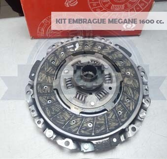 KIT EMBRAGUE 215 MM MEGANE 1600 (P+D+R)