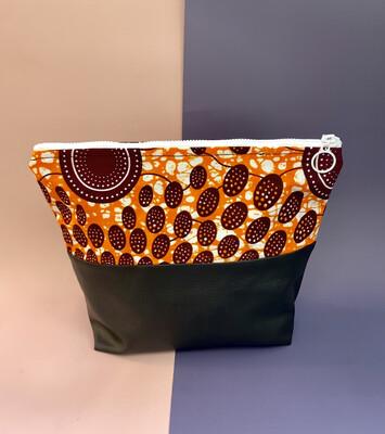 African Print Makeup Bag - Zulu