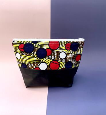 African Print Makeup Bag - Mande