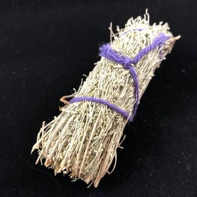 Desert Sage Smudge Stick, 4 inch, UNpackaged