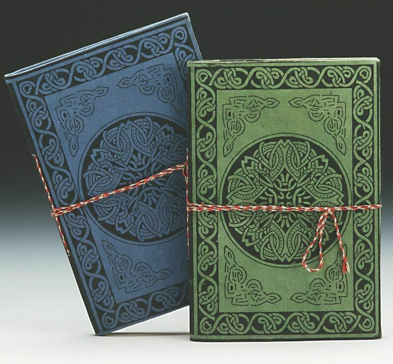Cotton Celtic Pattern Writing Journal