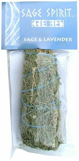 "Desert Sage & Lavender Smudge, 5"" packaged"