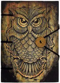 Handmade Journal-Owl