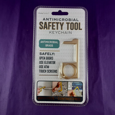 Antimicrobial Safety Tool Keychain