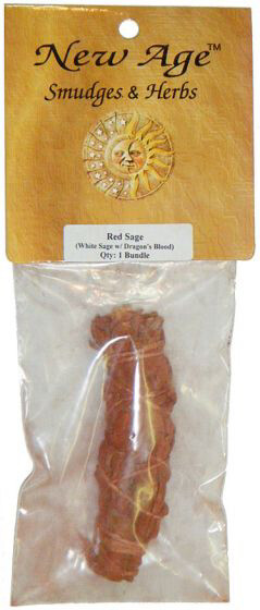 Red Sage 4in packaged
