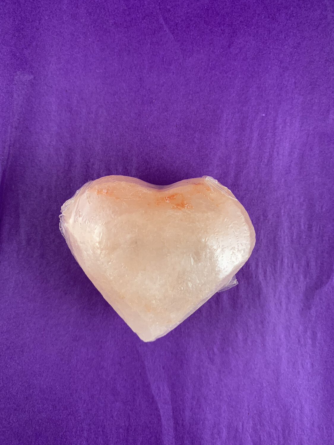 Himalayan Salt Massage Bar/soap/deodorant - Heart shape