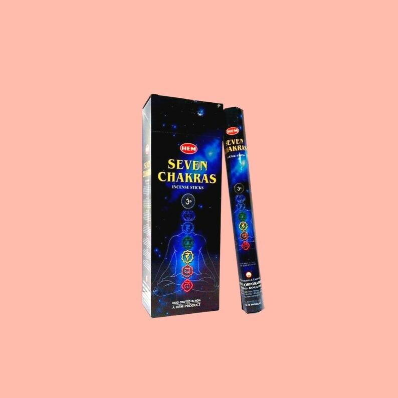 7 Chakra HEM stick