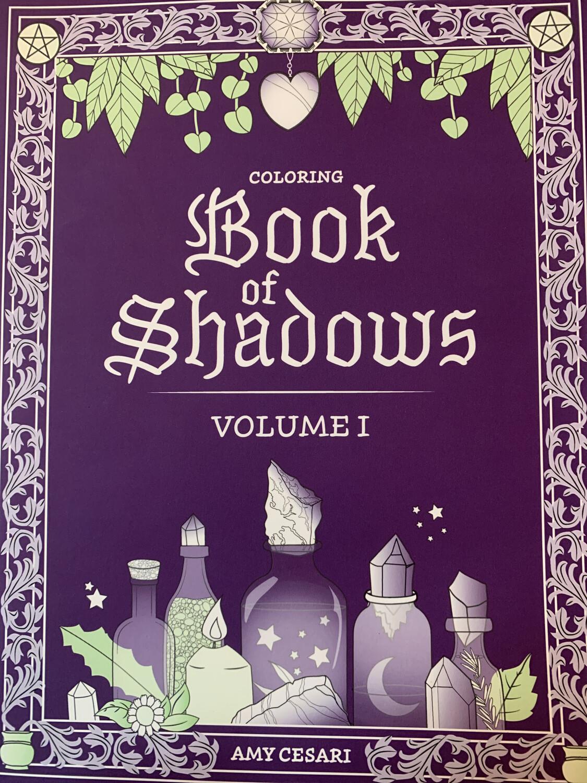 Coloring Book of Shadows, Vol. 1