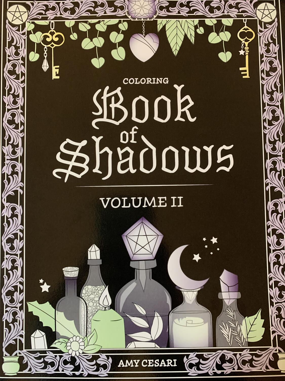 Coloring Book of Shadows, Vol. 2