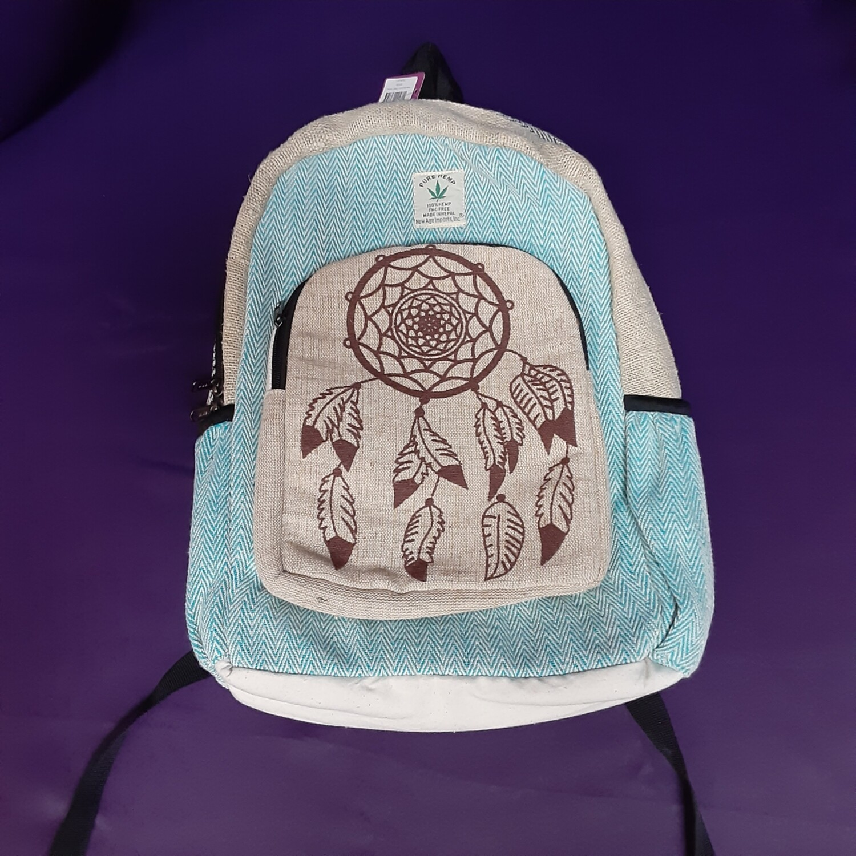 Hemp Backpack: Dream Catcher (NEW)