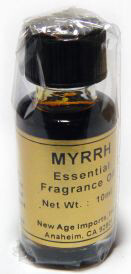 India Fragrance Oil: Myrrh