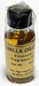 India Fragrance Oil: Vanilla Orange