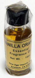 India Fragrance Oil: Vanilla Orange
