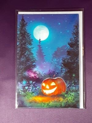 Samhain Spell Card
