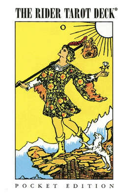 Pocket Rider-Waite Tarot