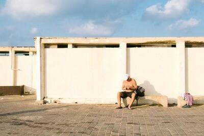 Toilette de plage
