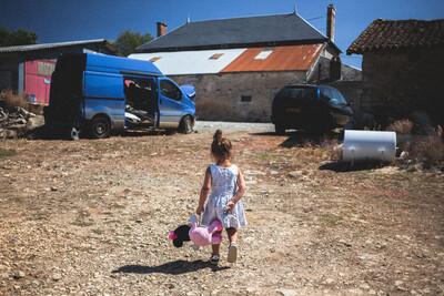 Minnie à la ferme