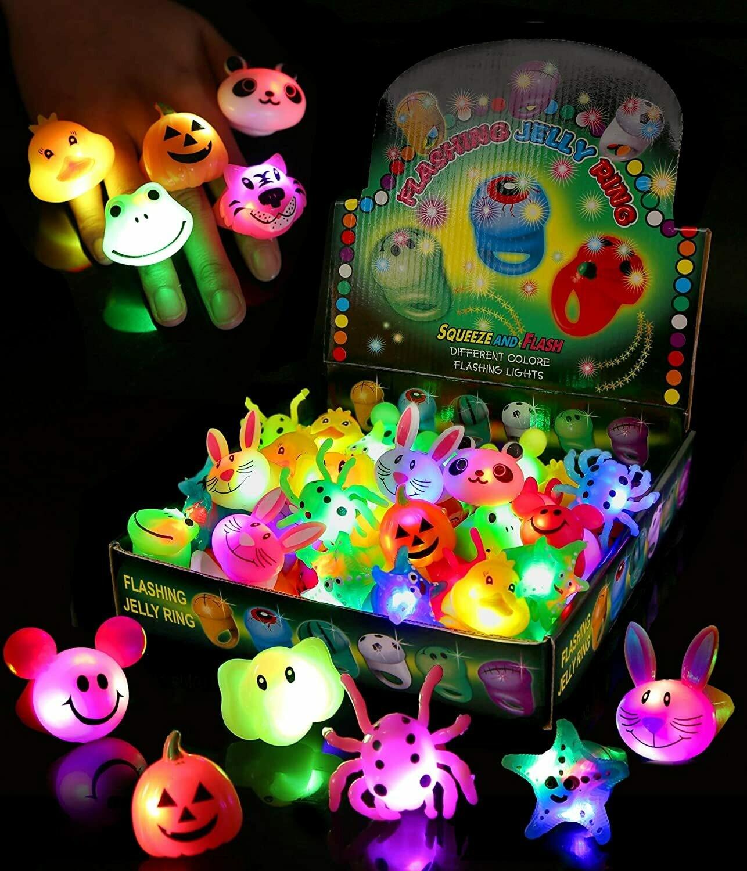 LED Flashing Jelly Ring