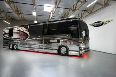 2006 Prevost Liberty XLII Double Slide Titanium Edition