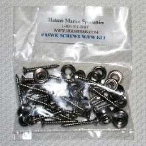 Square head screw kit