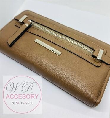 Wallet marrón claro
