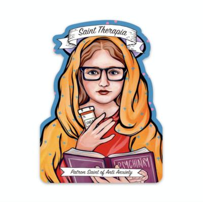 Saint Therapia Sticker