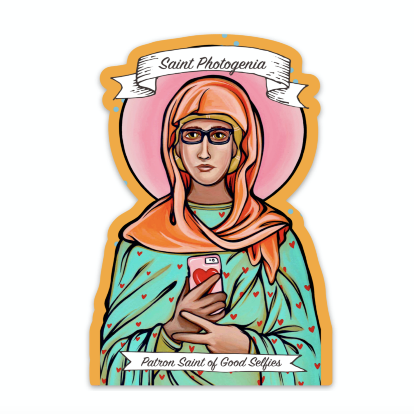 Saint Photogenia Sticker