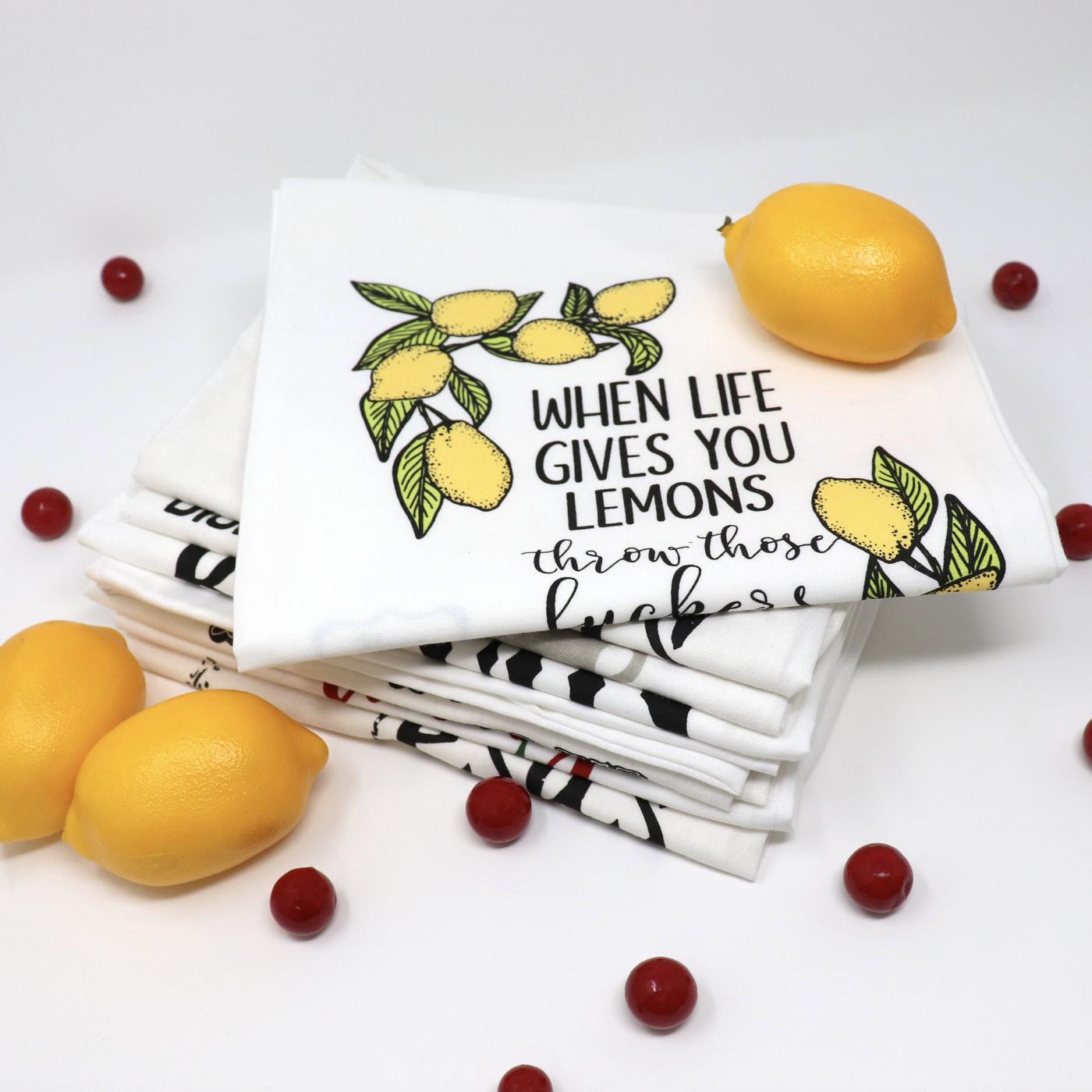 When Life Gives Lemons - Towel