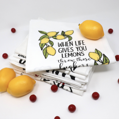 When Life Gives Lemons - Towel