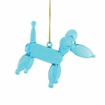 Balloon Poodle Ornament