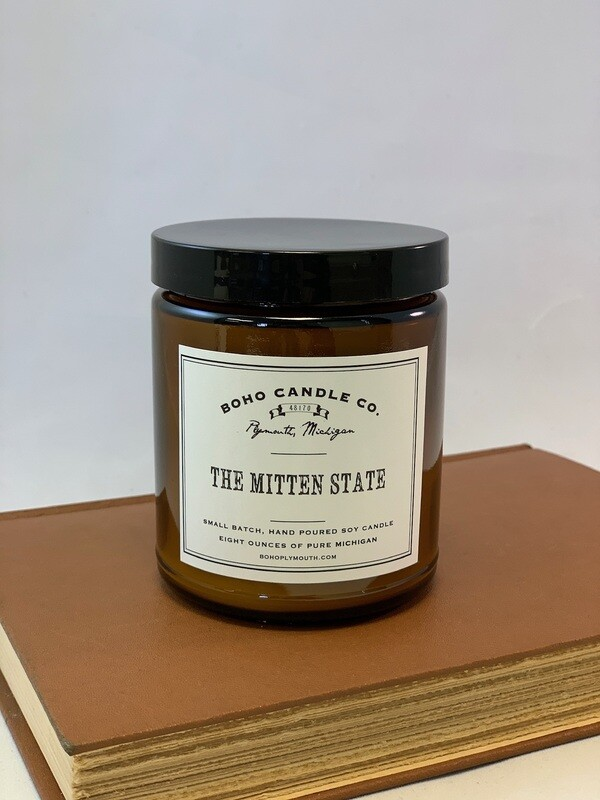BoHo The Mitten State Candle