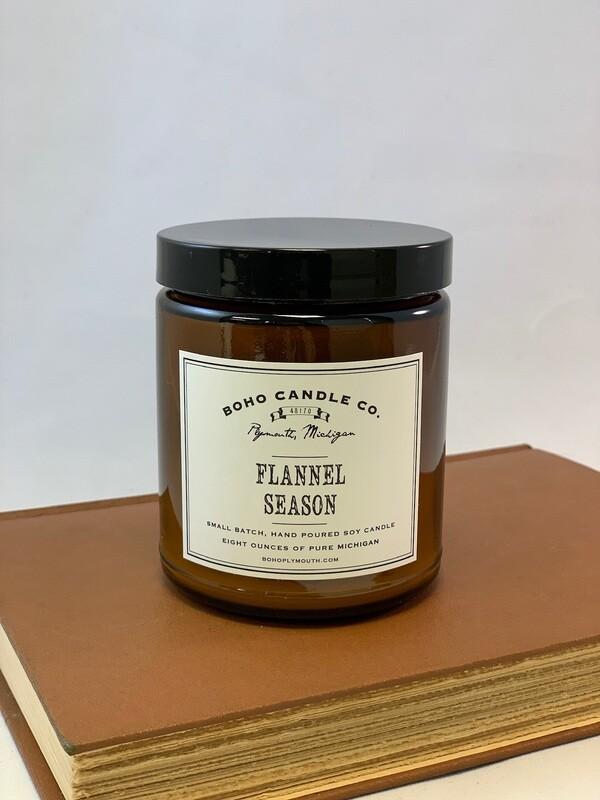 BoHo Flannel Season Candle