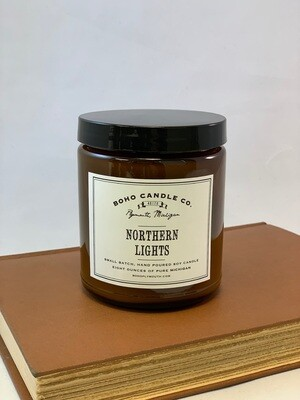 BoHo Northern Lights Candle