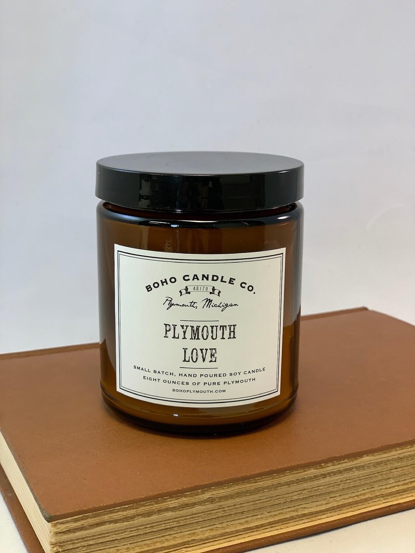 BoHo Plymouth Love Candle