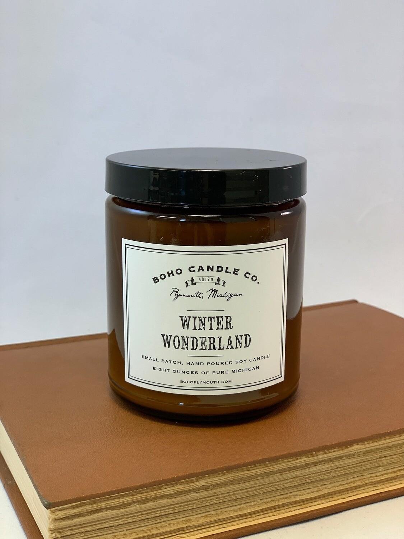 BoHo Winter Wonderland Candle
