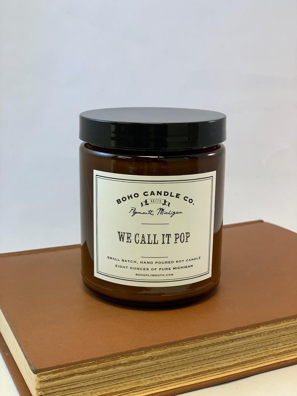 BoHo We Call It Pop Candle