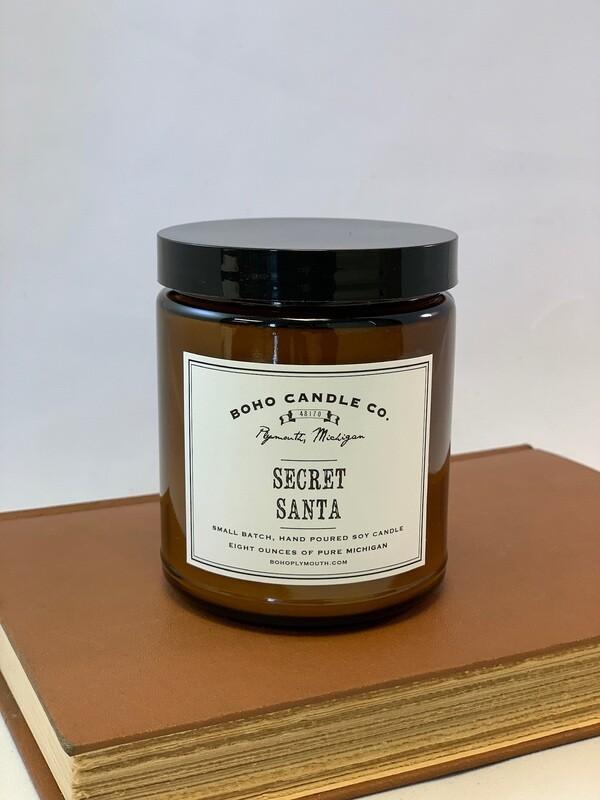 BoHo Secret Santa Candle