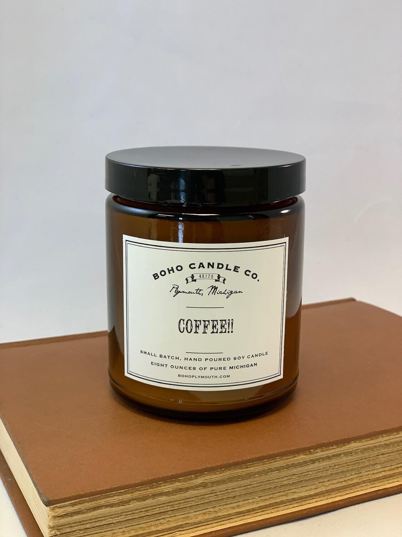 BoHo Coffee Candle