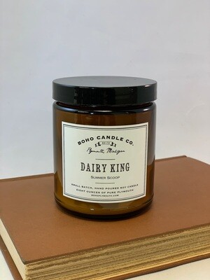 BoHo Dairy King Candle
