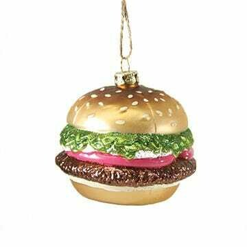 Burger Ornament