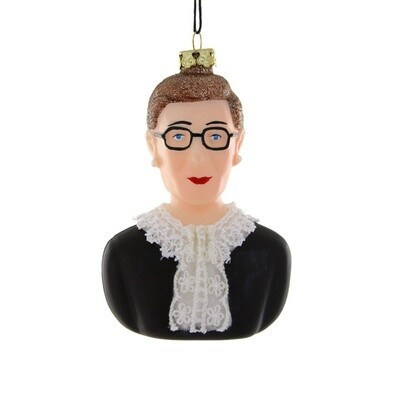 RBG Bust Ornament