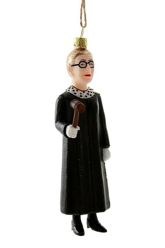 RBG Gavel Ornament