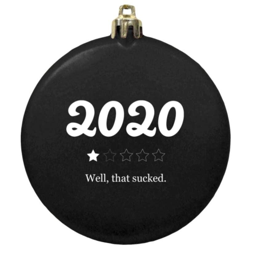 2020 Sucks Ornament